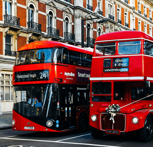 Bus touristique hop-on hop-off visiter Londres