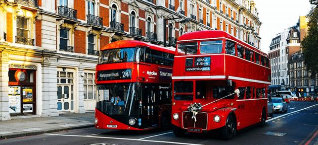 Bus touristique hop-on hop-off visiter Londres