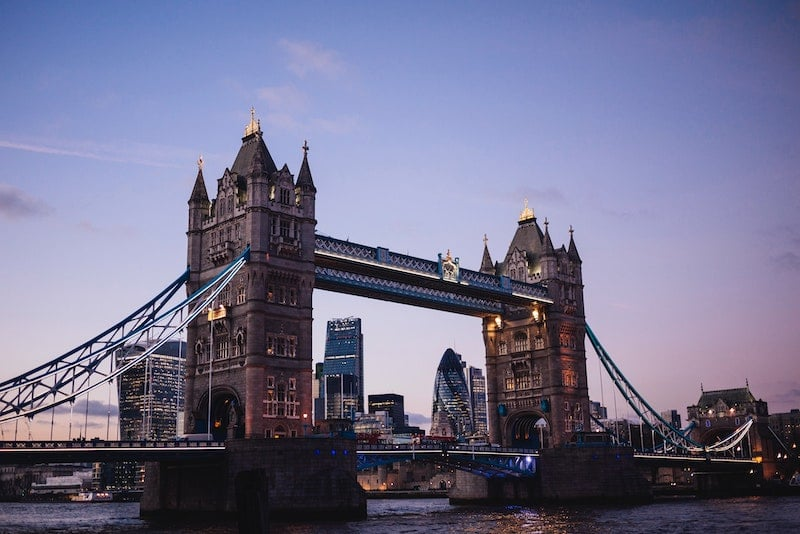 Visiter londres Tower Bridge