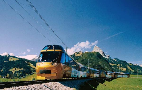 Pass InterRail PanoramicExpress train mythique suisse