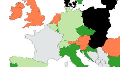 carte-europe-ou-les-francais-peuvent-voyager-en-europe