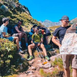 Randonnée dans le parc national des Pyrénées et bivouac au bord du lac de bastanet 🏕