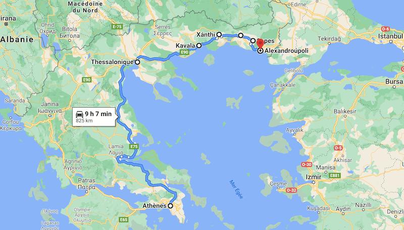 InterRail, Comment rejoindre-la-Turquie-par-la-Grece-avec-le-pass-InterRail-2